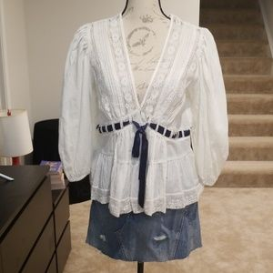 New with tags Free People Blouse